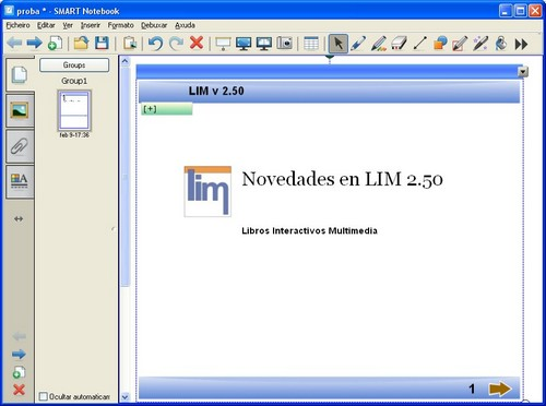 LIM & Notebook